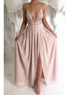 Charming Sexy Prom Dress ,Long Prom Dress,Chiffon Evening Dress,Formal Evening…