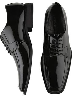Mens - ViaSpiga Black Tuxedo Shoes - Men's Wearhouse