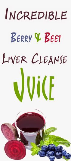 Health Matters: Incredible Berry & Beet Liver Cleanse Juice