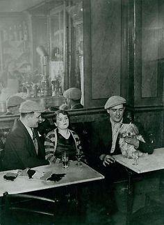 Paris Cafe Scene 1932 Brassai