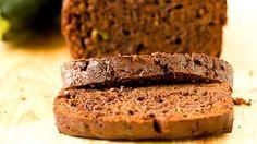 шоколадный хлеб с цуккини