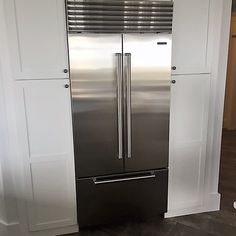This Sub Zero 36u201d Built In French Door Refrigerator Is Not Only Beautiful