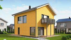 Honka Kumpula. #Honka Helsinki, Finland, Building A House, Garage Doors, Shed, Outdoor Structures, Outdoor Decor, Home Decor, Decoration Home