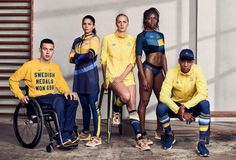 Olympics 2016: The Most Stylish Uniforms from the Rio Games: Sweden Olympic Committee