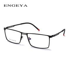16cbbdfbfd74 2016 Men s Super Light Metal Optical Glasses FrameUinque Glasses Legs Brand Designer  Prescription Eye Glasses Frame