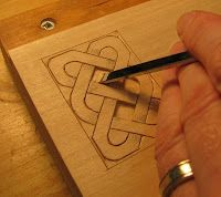 The Village Carpenter: Carving a Celtic Knot