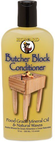 Howard Bbc012 Butcher Block Conditioner, 12-ounce