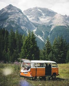 Share your photos on … - Van Life Kombi Hippie, Wolkswagen Van, Places To Travel, Places To Visit, Lofoten, Travel Aesthetic, Adventure Is Out There, Travel Goals, Van Life
