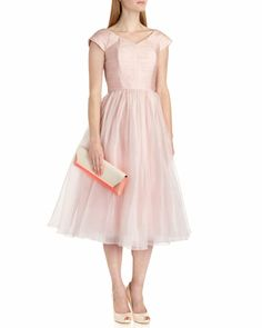 Ballerina skirt dress - Nude Pink   Dresses   Ted Baker UK