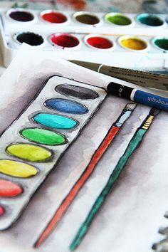 Alisa Burke | #drawing #illustrator #illustration #art #color #paint #ilustração #arte #sketch #sketchbook #rough #wip #cartoon #draw