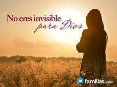 Tu dolor no es invisible para Dios. Tan sólo tienes que encontrar la fuente que te dé fuerza para escuchar, en medio del dolor, Su voz llamándote por...