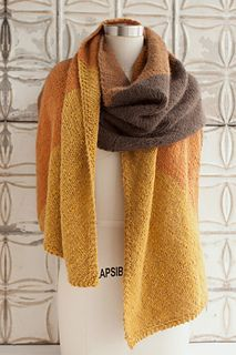 For keeping the winter chill at bay:  Livesey House Wrap, free pattern by Jocelyn Tunney