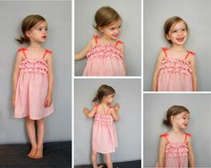 Simple Ruffled Dress Tutorial - see kate sew