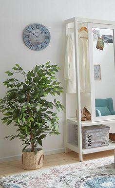 Home affaire Kunstpflanze »Ficus Benjamini« in 2 Größen #pflanzen #wohnen