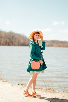 The Clothes Horse: Outfit: Peachy Keen