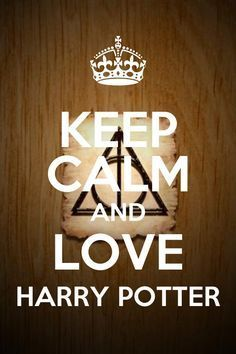 Carteles de Keep Calm de Harry Potter...