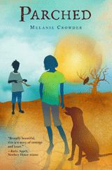In this haunting, lyrical novel told from three perspectives, Sarel has just witnessed the violent murder of her parents. But she is not completely alone on the drought-ridden land. Nandi is the leader of a pack of dogs who looks out for her pups and for skinny Sarel-girl. Nandi knows they are all in trouble, and she knows, too, that a boy is coming—an escaped prisoner with the water song inside him. A hard-hitting but ultimately hopeful survival story.