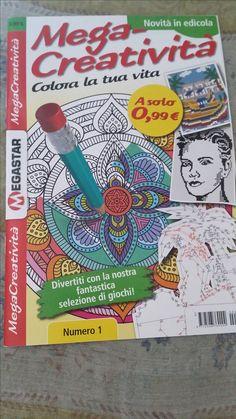 MegaCreatività di Megastar Italia, la rivista di giochi e colori per un estate ricca di relax e passatempi. Ecco la mia recensione.