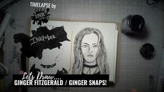 Tonight we drew Ginger Fitzgerald from Ginger Snaps as part of Inktober! & listen to us talk about horror movies. Ginger Snaps, Inktober, Horror, Drawings, Art, Art Background, Kunst, Sketches, Performing Arts