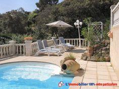 Les Issambres, quartier résidentiel. 120 m² habitation principale, séjour cheminée, 3 chambres, salle de bains, douche, cuisine équipée, 2 terrasses, cuisine d'été. Studio indépendant F2 à l'étage 40 m² avec mezzanine. Terrasse. Piscine http://www.partenaire-europeen.fr/Annonces-Immobilieres/France/Provence-Alpes-Cote-d-Azur/Var/Vente-Maison-Villa-F7-LES-ISSAMBRES-1009348 #maison #terrasse