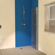 The new UniClosure 900 Folding Wet Room Screen in the folded away position to provide more space in even the smallest of wetrooms. Shower Screen, Wet Room Shower Screens, Bath Remodel, Bathroom Decor, Tall Cabinet Storage, Shower Cabin, Bathroom Design Small, Room, Wet Room Screens
