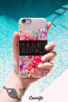 Summer Pattern iPhone 6 phone case design