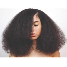 Blow Out on Natural Hair #afrohairstyles