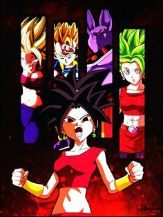 Kefla by on DeviantArt Dragon Ball Z, Dragon Z, Dbz, Lelouch Lamperouge, Anime, Iphone Wallpaper, Drawings, Artwork, Roxy