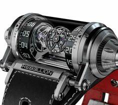 Rebellion Weap-One Tourbillon on Behance Amazing Watches, Cool Watches, Rolex Watches, Vintage Watches For Men, Luxury Watches For Men, Devon, Bell Ross, Skeleton Watches, Dream Watches