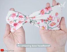 Sewing Headbands, Diy Baby Headbands, Diy Headband, Baby Bows, Baby Headband Tutorial, Flower Headbands, Headband Pattern, Diy Hair Scrunchies, Diy Hair Bows