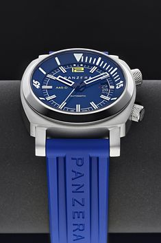 """Use code DIVE for your 20% discount at checkout on the NEW Australian made Aquamarine Pro Diver automatic watch collection. 300M water resistance. Sapphire glass. Internal diving bezel for accurate dive time monitoring. PANZERA since 2009 is highly recommended by """"Bloomberg"""", """"Top Gear"""", """"IB Times"""" and """"Watchuseek"""" as well as countless 5-star customer reviews. Free 5 Day DHL Express delivery globally. 2 years international warranty, 30-day satisfaction guarantee."""