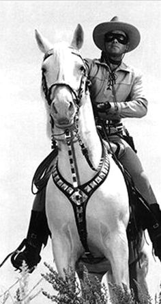 Clayton Moore-The Lone Ranger.