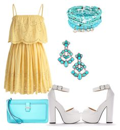 """""""So beauty and chic look"""" by anielle-fashion on Polyvore featuring Kate Spade and Chicwish"""