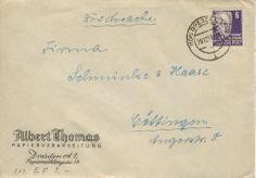 Dresden Albert Thomas Papierverarbeitung nach Gottingen Schmincke & Haase