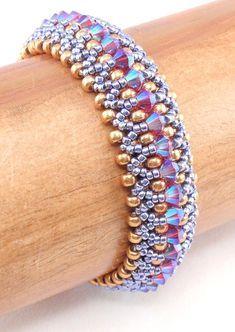 Beading Tutorial for Kaleidoscope Bracelet beading tutorials