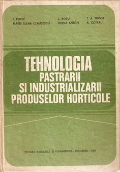 Tehnologia Pastrarii Si Industrializarii Produselor Horticole Paper Shopping Bag