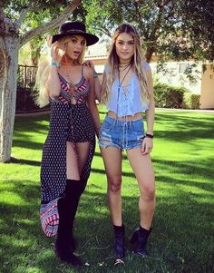 coachella, outfit, and lele pons Bild