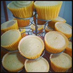 Cupcakes baunilha!