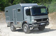 Whether Sahara or Siberia, with your Bimobil Expedition Truck you can get anywhere. The EX 480 is a true off-road long distance travel vehicle based on a Mercedes Benz Atego 1023 chassis with AWD, offering a superb engine performance … Continue reading → Overland Truck, Expedition Vehicle, Diy Camper, Truck Camper, Motorhome, Outback Campers, Rv Vehicle, Mercedes Benz Unimog, Adventure Campers