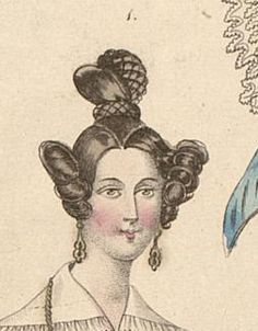 Mitte 1830er Tagesfrisur - the Apollo Knot daytime hairstyle