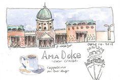 from my sketchbook ~ Budapest Jane LaFazio