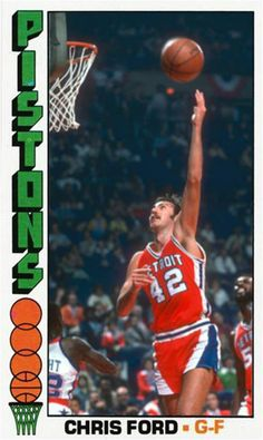 Chris Ford Detroit Pistons