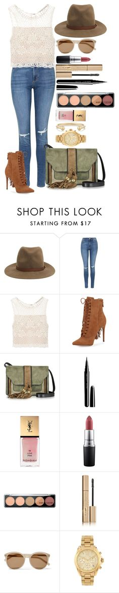"""Untitled #1460"" by fabianarveloc on Polyvore featuring rag & bone, Topshop, Alice + Olivia, Alexandre Birman, L'Autre Chose, Marc Jacobs, Yves Saint Laurent, MAC Cosmetics, Stila and Michael Kors"