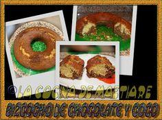 La cocina de Maetiare: Bizcocho de chocolate y coco