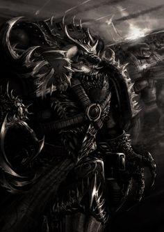 warhammer-fan-art:  by slaine69
