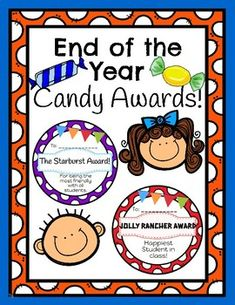 Use these Super Colorful Candy Awards to give your students at the end of the school year or just for fun! You can tape the candy to the award to make for a sweet award for your student! Candy Awards, Fun Awards, Kids Awards, Student Awards, Pre K Graduation, Preschool Graduation, Graduation Ideas, Preschool Education, Preschool Ideas