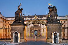 Prague Castle - New Palace New Palace, Prague Czech Republic, Heart Of Europe, Prague Castle, Historical Monuments, Central Europe, Best Location, Capital City, Barcelona Cathedral