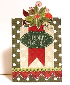 """""""Christmas Memories"""" Card by Kaori Fujimoto"""