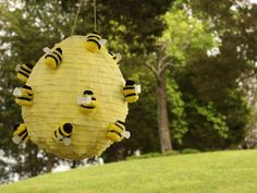 Beehive  Video: piñata http://www.hgtv.com/easy-diy-decorating-projects-for-spring/video/index.html?soc=spring_20140316_20070394