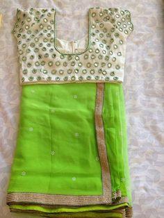 Blouse for pink saree